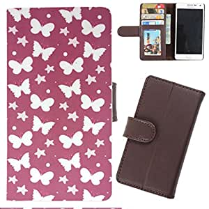 DooDa - For Samsung Galaxy Note 3 Neo PU Leather Designer Fashionable Fancy Wallet Flip Case Cover Pouch With Card, ID & Cash Slots And Smooth Inner Velvet With Strong Magnetic Lock
