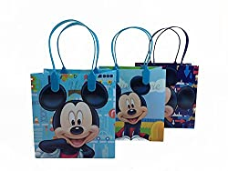 12PC DISNEY MICKEY MOUSE GOODIE BAGS PARTY FAVOR BAGS GIFT BAGS