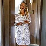 RockFlowerPaper Women's Buttons Cotton Sleepshirt/Nightgown