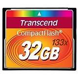 Transcend 32 GB 133x CompactFlash Memory Card TS32GCF133