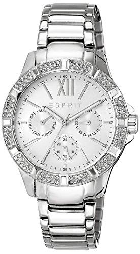 Esprit Mujer Reloj De Pulsera es de alycia Silver analógico de cuarzo Acero inoxidable es108472001