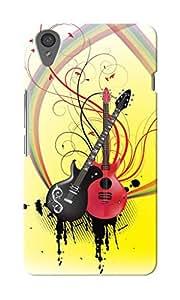 KnapCase Guitars Designer 3D Printed Case Cover For OnePlus X