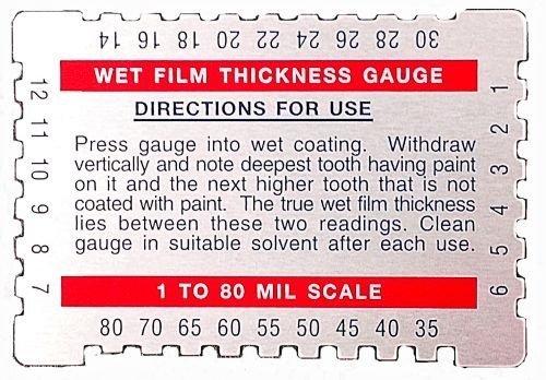 SCT 237-700 Wet Film Gauge, Model: , Office Shop (Paint Wet Film Gauge compare prices)