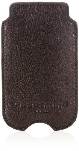 Liebeskind Berlin Mobile5 Mobile5, Unisex Handyhülle, Schwarz (black), 7.5x12.5x1 cm (B x H x T)