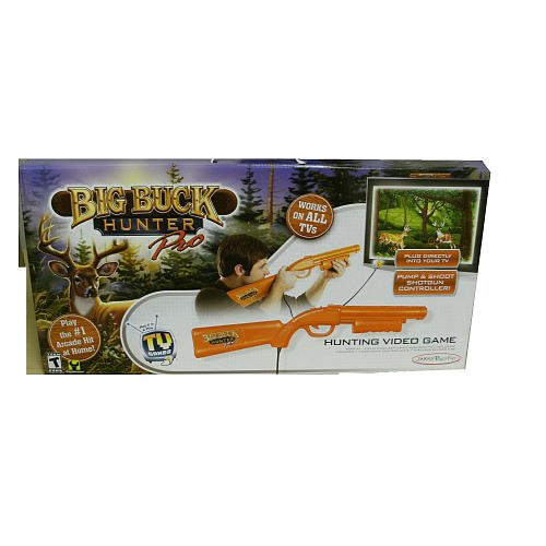 Big Buck Hunter Pro Hunting Video Game TV Plug n Play