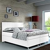 Boxspringbett 160x200 Hotelbett Doppelbett Polsterbett Ehebett amerikanisches Bett Modell Madrid