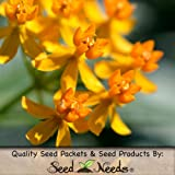 100 Seeds, Butterfly Weed (Asclepias Tuberosa) Seeds By Seed Needs