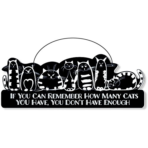 Cool Cats Cat-Gang Shaped Laser-Etched 3-In-1 Plaques Ver1 Not Enough Black front-48092