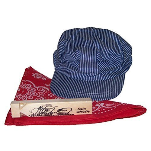 Little Engineer Hat Bandanna & Whistle Set - 1