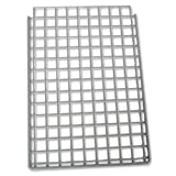 Versapak Single Extra Shelf Plastic-Coated Steel W267mm Grey for Versapak Mailsorter Ref MSS1