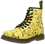 Dr.Martens Delaney Kids (Junior) Boot - Sun Yellow Little Flowers - 12 UK