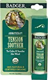Badger TENSION SOOTHER BALM Certified Organic Tangerine & Rosemary 28g