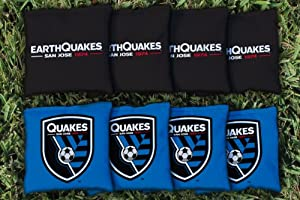 San Jose Earthquakes Goonies Replacement Cornhole Bag Set (all weather) by Gameday Cornhole