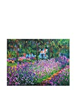 Especial Arte Lienzo Monet's Garden Multicolor