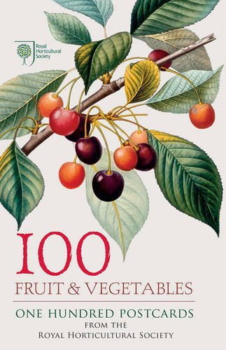 100 Fruit & Vegetables from the RHS: 100 Postcards in a Box (Postcards Boxset)