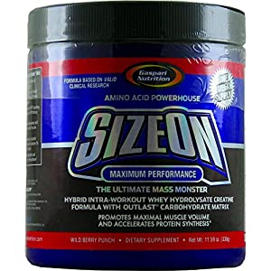Gaspari Nutrition SizeOn Mini 1 Week Supply Maximum Performance