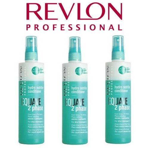 3 x Revlon Equave 2 Phase dry Conditioner trockenes Haar 500 ml.