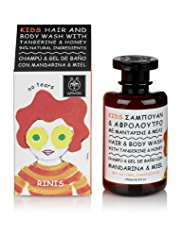APIVITA Kids Hair & Body Wash with Tangerine & Honey 250ml