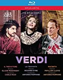 Verdi, G.: Trovatore (Il) / La Traviata / Macbeth (Royal Opera House, 2002-2011) (3-DVD Box Set) [Blu-ray]