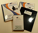 CONTRACTORS LICENSE KIT D12 - SYNTHETIC PRODUCTS for California w/LAW & BUSINESS and Practice Exam Software, (KIT INCLUDES; Instructors on DVDs, Study Manuals, Practice Exam Software, Licensing Checklist, State Application Documents, Live Customer Support