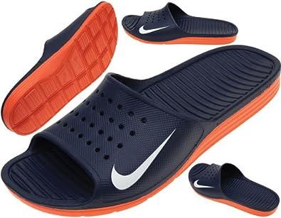 Nike - Solarsoft Slide (386163 402) - Blue - UK13: Amazon