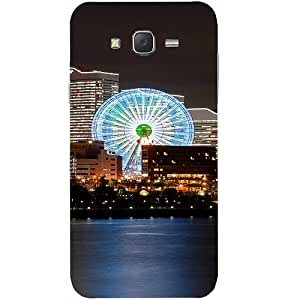 Casotec Japan Fun City Design Hard Back Case Cover for Samsung Galaxy J2