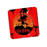 PosterGuy War Factory Graphic Illustration Coaster
