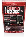 BodyWorldGroup Amino 20.000, Muscle Line, 900 Tabletten, 1er Pack (1 x 1.08 kg)