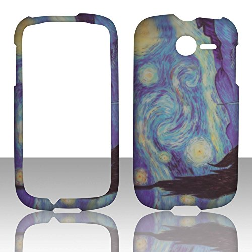 2d-blue-design-huawei-ascend-y-m866-tracfone-uscellular-case-cover-hard-phone-case-snap-on-cover-rub