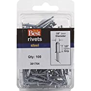 Do it Best Global Sourcing 381764 Do it Best POP Rivets-1/8X1/2 STL POP RIVET