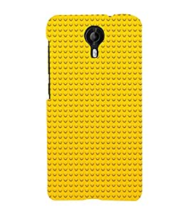 3D Dots Pattern 3D Hard Polycarbonate Designer Back Case Cover for Micromax Canvas Nitro 4G E455