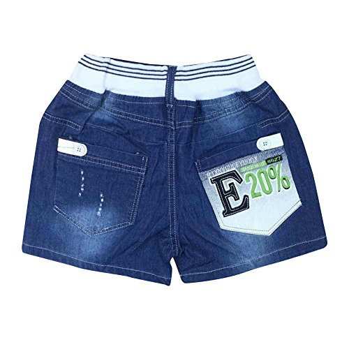 Zier bambini ragazzi pantaloncini jeans denim mutanda casuale Pull Up elastico regolabile nuovo design