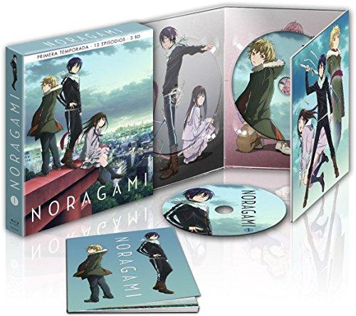 Noragami Temporada 1 Episodios 1-12 - Blu-Ray Edición Coleccionista [Blu-ray]