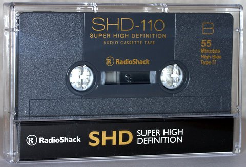 Review Radio Shack 110 Minute Blank Audio Cassette 10 Pack
