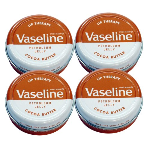 Vaseline Lip Therapy ヴァセリン 20g Cocoa Butter 4個セット