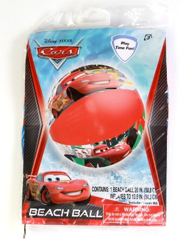Disney Inflatable Beach Ball, 20-inch, Styles May Vary