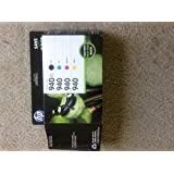 HP 940XL Black Ink Cartridge and HP 940 Colors Standard Yield Cartridges Four Color Combo Pack. Part HP CZ143FN. 1 Pack of 4.