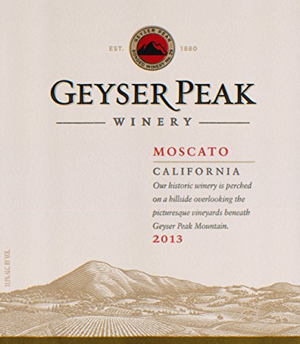 2013 Geyser Peak California Moscato 750 Ml