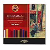 KOH-I-NOOR GIOCONDA 8114 Artist's Hard Pastels (Pack of 24)