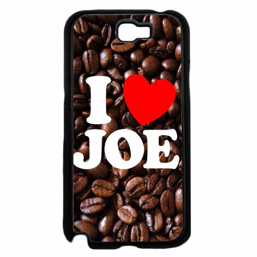 I Love Joe- Plastic Phone Case Back Cover Samsung Galaxy Note Ii 2 N7100