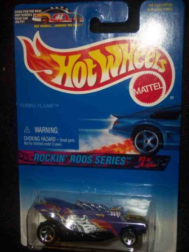 Rockin Rods Series #3 Turbo Flame #571 97 Card Mint