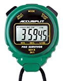 ACCUSPLIT Pro Survivor - A601X Stopwatch, Clock, Extra Large Display (Green)