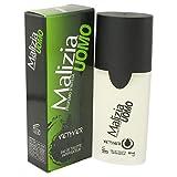 Malizia Uomo by Vetyver Eau De Toilette Spray 1.7 oz for Men
