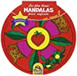 Les plus beaux mandalas pour enfants - Volume 1 Rouge