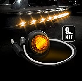 Recon (264227AMBK) Air Dam Light Kit