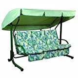 "Bosmere C510 Waterproof Swing Seat Cover, 96"" x 57"" x 67"", Green"