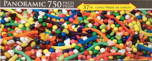 Panoramic 750 Piece Puzzle Lots'O Candy