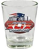 New England Patriots Super Bowl Superbowl XLIX 49 Champions Shot Glass