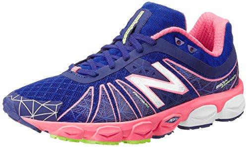 888098239928 - New Balance Women's W890 Neutral Light Running Shoe,Blue/Pink,12 B US carousel main 0