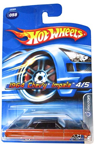 Hot Wheels 2006-059 1964 Chevy Impala 4/5 Dropstars 1:64 Scale